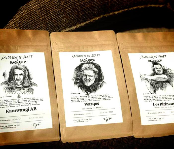 Viking Coffee – Jacobsen and Svart + Ragnarok