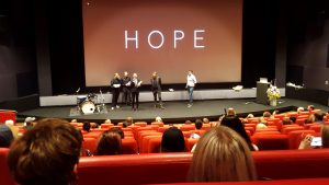 Hope, Short Film: First preview and First award!